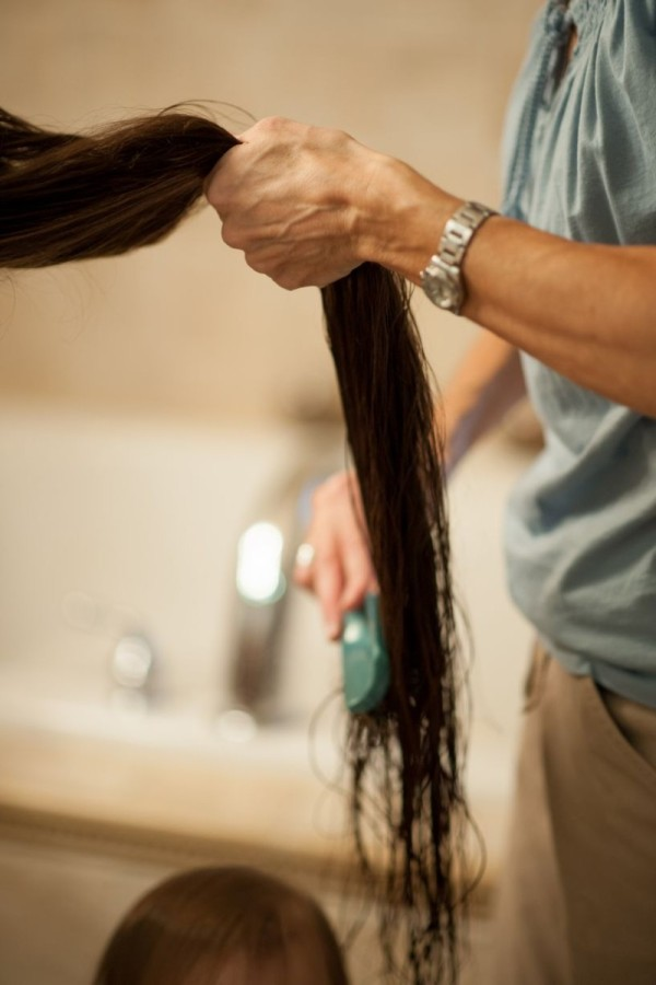 A família Rapunzel, o comprimento combinado de seu cabelo atinge os 4 metros 08