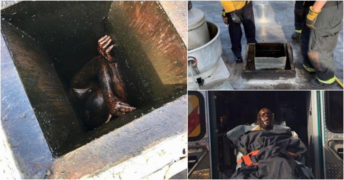 Homem é encontrado no exaustor de um restaurante chinês depois de dois dias preso