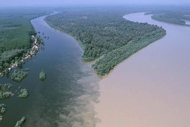 Quando os rios colidem: incríveis confluências ao redor do mundo