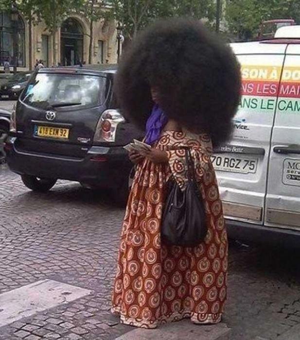 Conheça Aevin Dugas, a orgulhosa dona do maior penteado afro do mundo 23