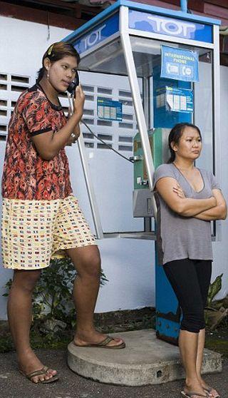 Malee Duangdee, a jovem mais alta do mundo 03