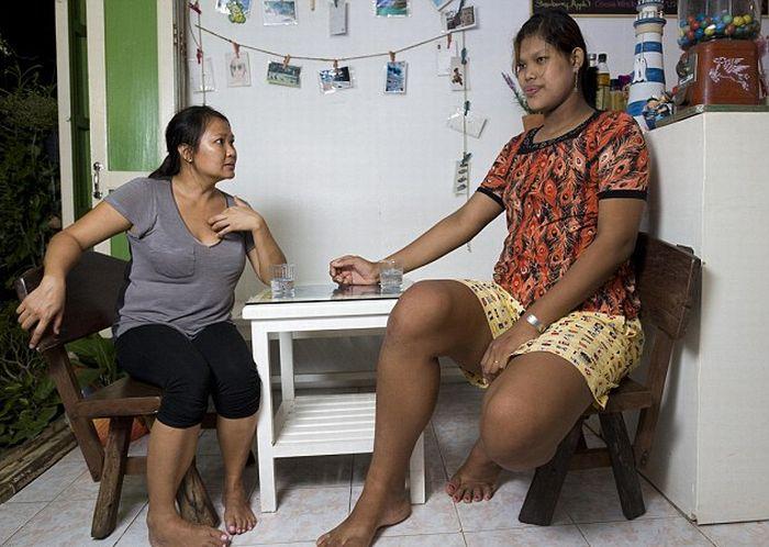 Malee Duangdee, a jovem mais alta do mundo 04