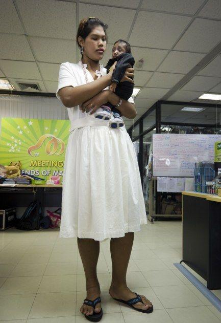 Malee Duangdee, a jovem mais alta do mundo 05