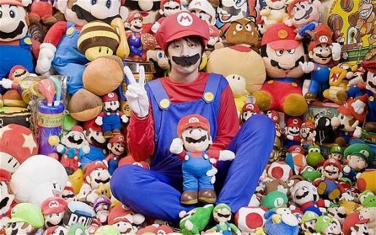 Geek japonês é o maior fã do mundo de Super Mario