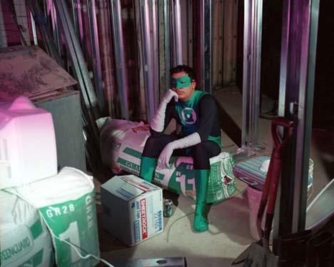 Super-heróis na crise