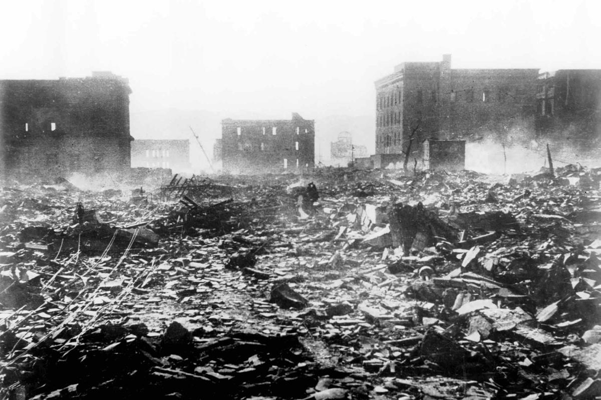 Leia o relato terrível de uma testemunha do bombardeio de Hiroshima 02