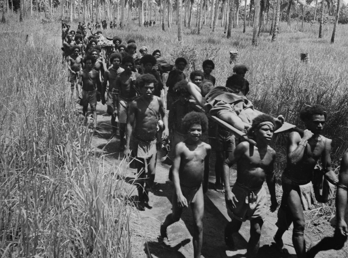 Os povos indígenas de Papua Nova Guiné salvaram centenas de soldados feridos na Segunda Guerra Mundial 02