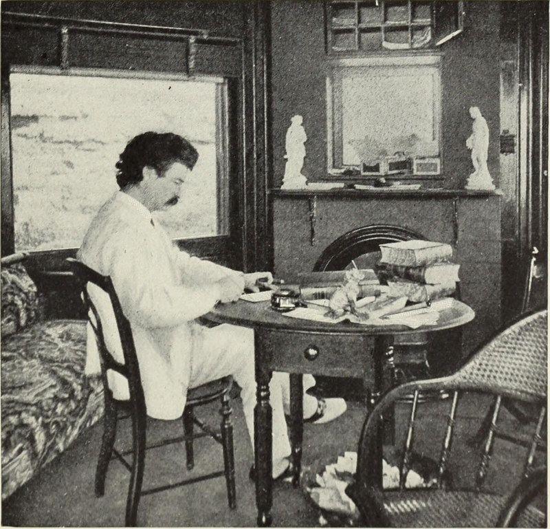 Mark Twain odiava basicamente tudo o que tinha a ver com os correios