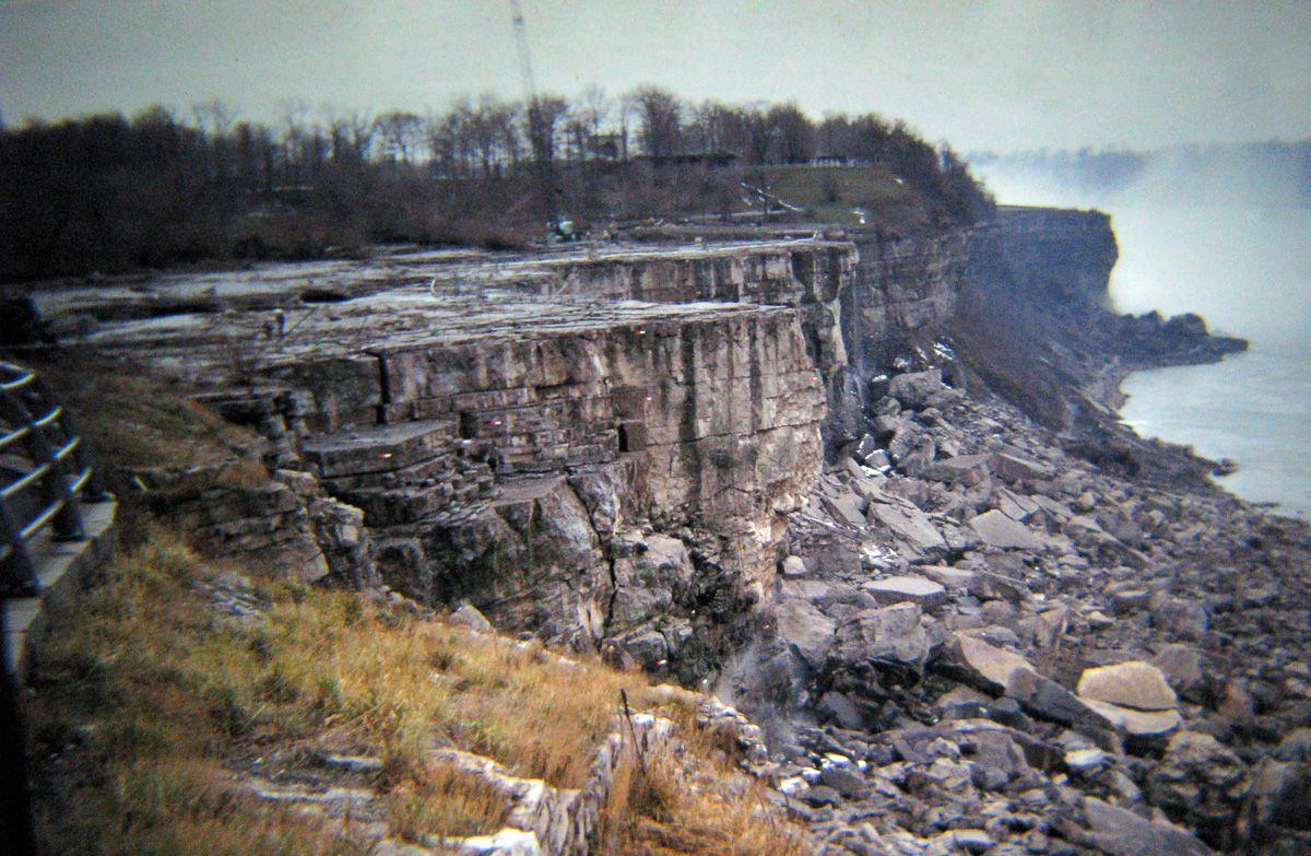 Quando drenaram as Cataratas do Niágara e encontraram surpreendentemente poucos cadáveres 07