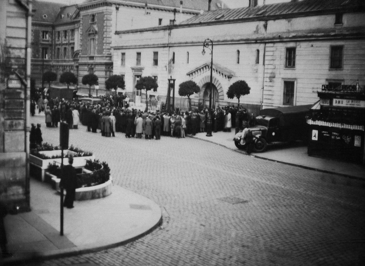 A última execução pública pela guilhotina na França 10