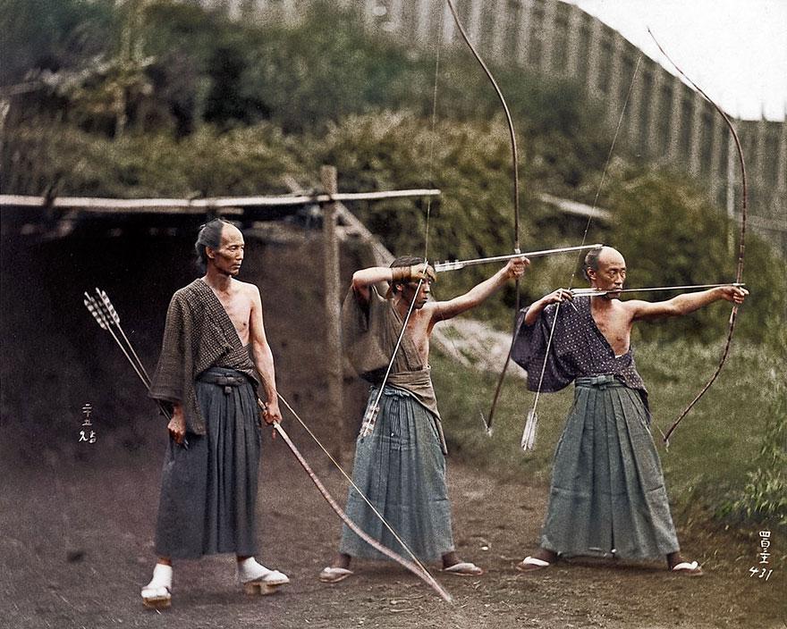 20 fotografias históricas colorizadas