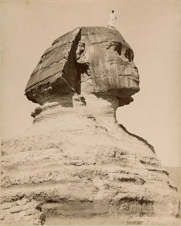 Magníficas imagens capturam as maravilhas antigas e modernas do século XIX no Egito 02