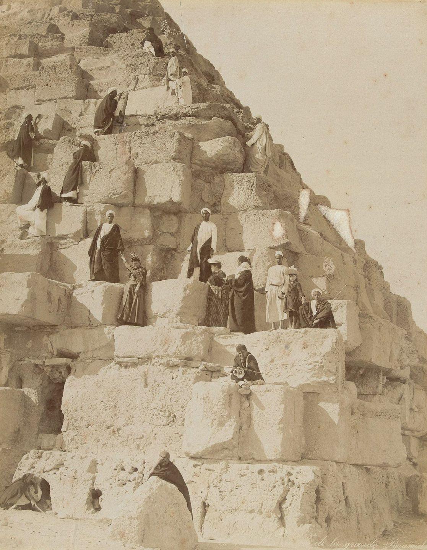 Magníficas imagens capturam as maravilhas antigas e modernas do século XIX no Egito 04