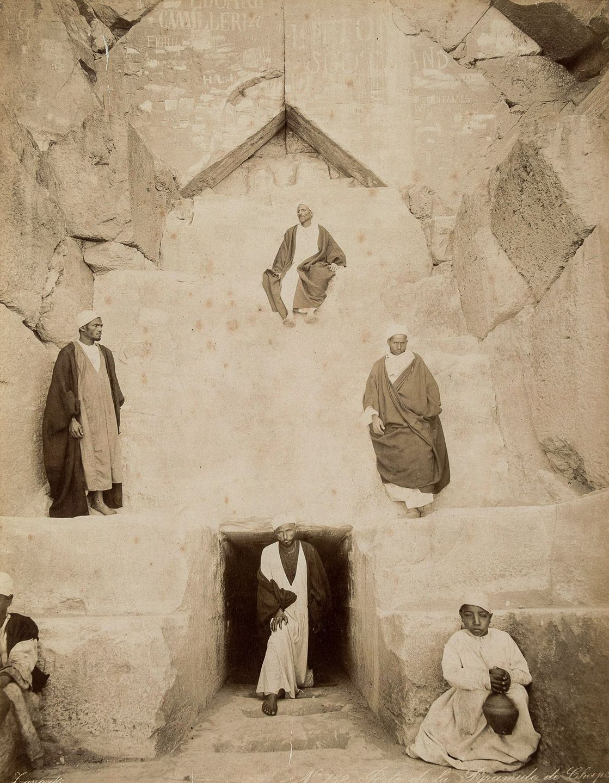 Magníficas imagens capturam as maravilhas antigas e modernas do século XIX no Egito 08