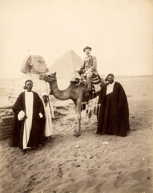 Magníficas imagens capturam as maravilhas antigas e modernas do século XIX no Egito 18