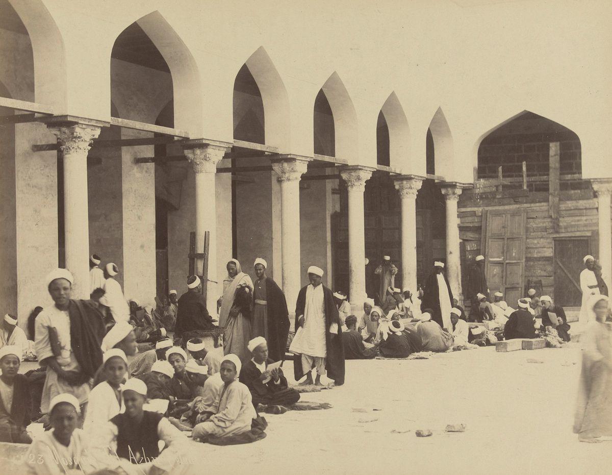 Magníficas imagens capturam as maravilhas antigas e modernas do século XIX no Egito 19