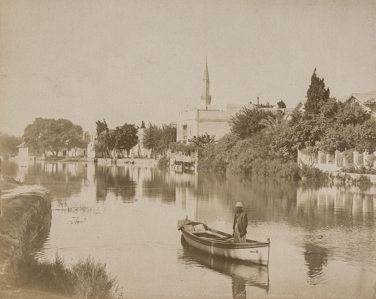 Magníficas imagens capturam as maravilhas antigas e modernas do século XIX no Egito 21