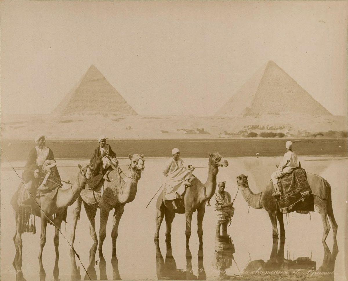 Magníficas imagens capturam as maravilhas antigas e modernas do século XIX no Egito 26