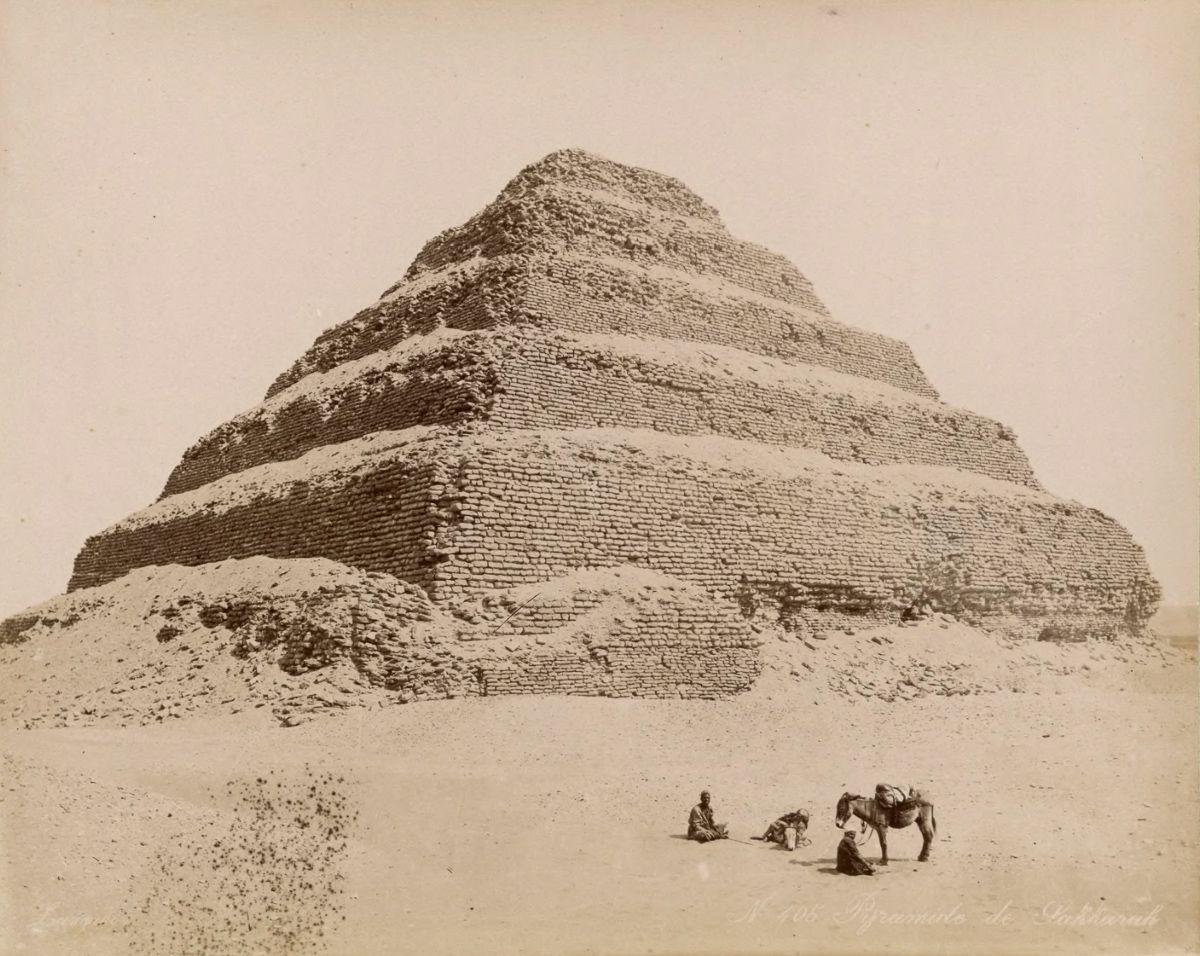 Magníficas imagens capturam as maravilhas antigas e modernas do século XIX no Egito 27
