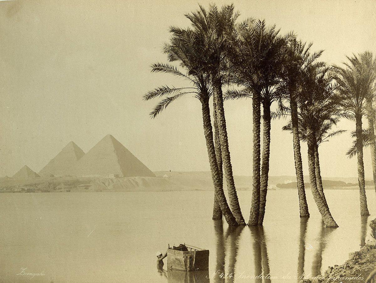 Magníficas imagens capturam as maravilhas antigas e modernas do século XIX no Egito 28
