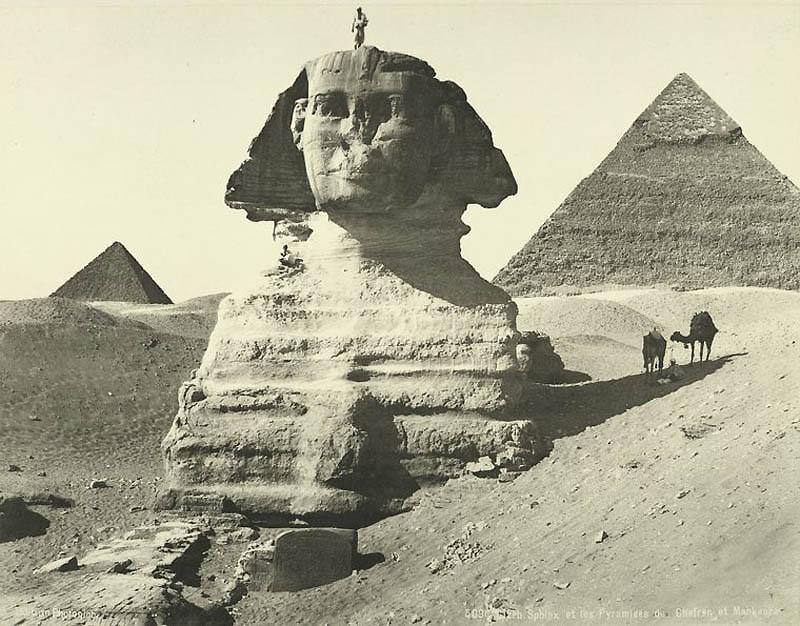 Incr�veis fotos do Egito de 1870 02