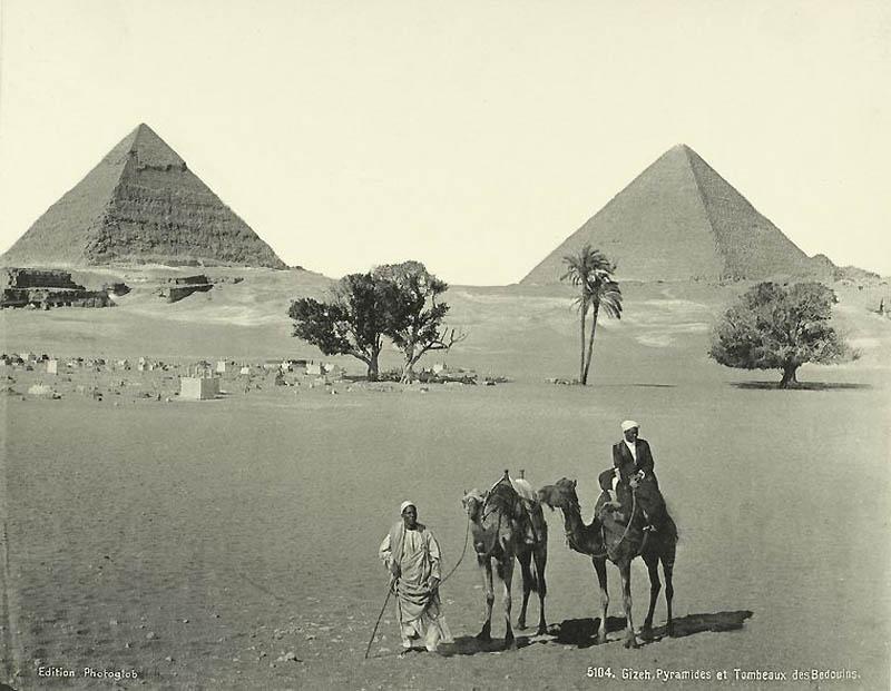 Incríveis fotos do Egito de 1870 03