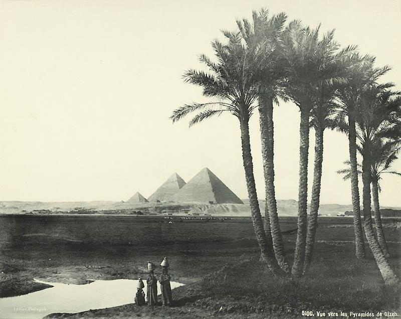 Incríveis fotos do Egito de 1870 04