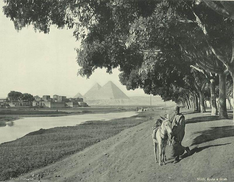 Incríveis fotos do Egito de 1870 05