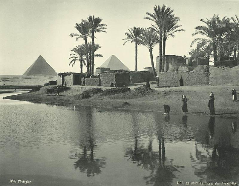 Incríveis fotos do Egito de 1870 06