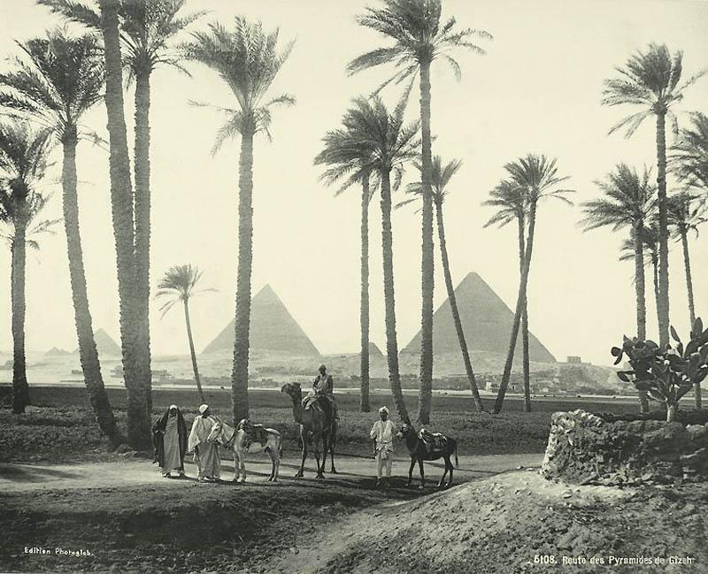Incríveis fotos do Egito de 1870 07
