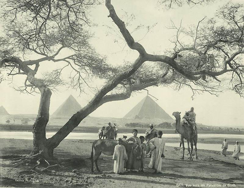Incríveis fotos do Egito de 1870 08
