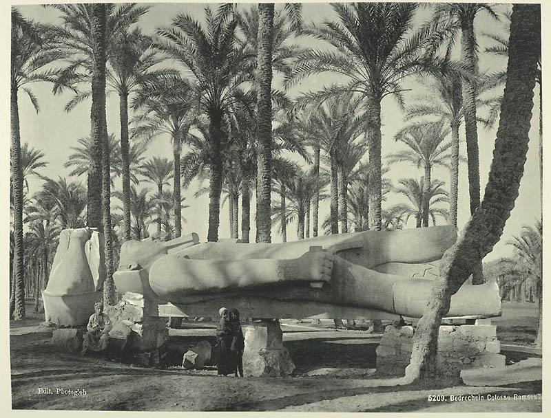 Incríveis fotos do Egito de 1870 13
