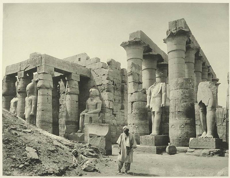 Incríveis fotos do Egito de 1870 16