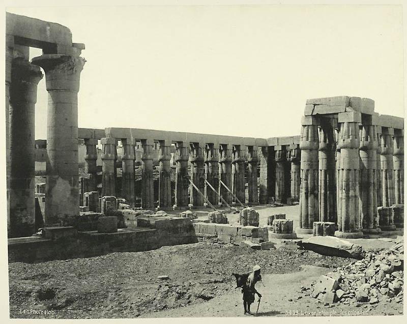 Incríveis fotos do Egito de 1870 17