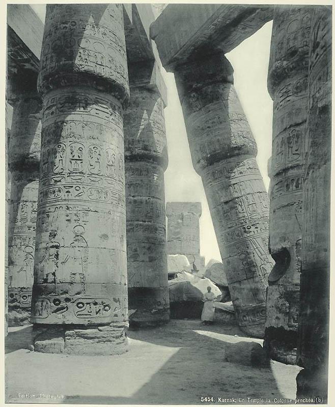 Incríveis fotos do Egito de 1870 18