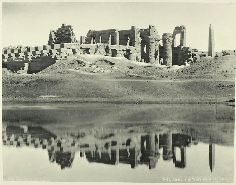 Incríveis fotos do Egito de 1870 19