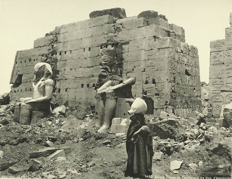 Incríveis fotos do Egito de 1870 21