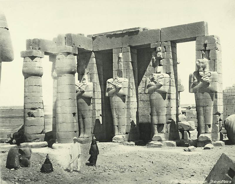 Incríveis fotos do Egito de 1870 22