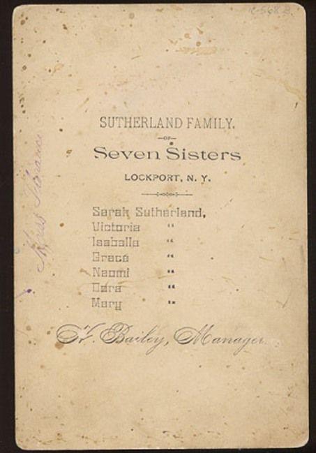 A incrível história das sete irmãs Sutherland e suas fartas melenas