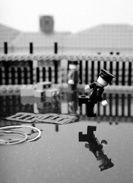Fotografias que contam história transladadas ao Lego 19