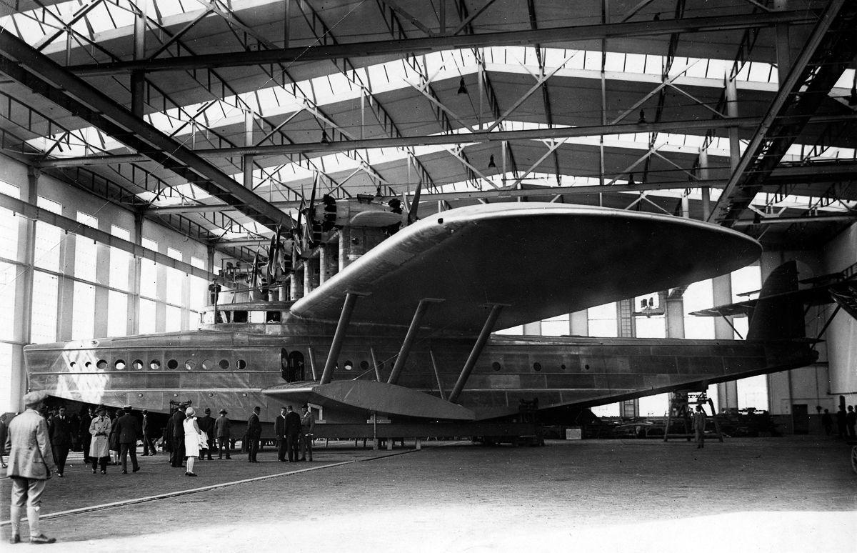 Este enorme barco voador luxuoso foi o maior e mais pesado do mundo 03