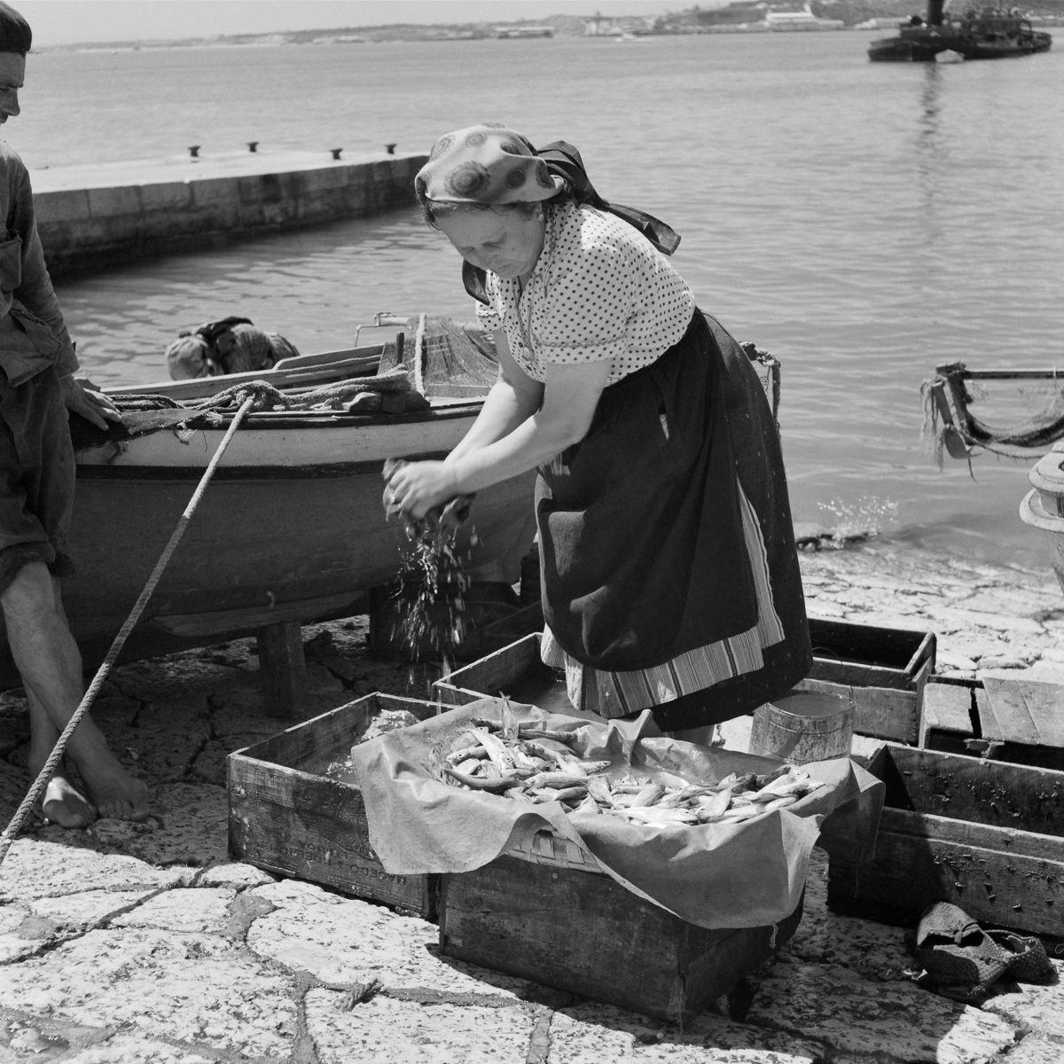 Fotografias deslumbrantes capturam a cultura da pesca dos anos 50 em Portugal 03