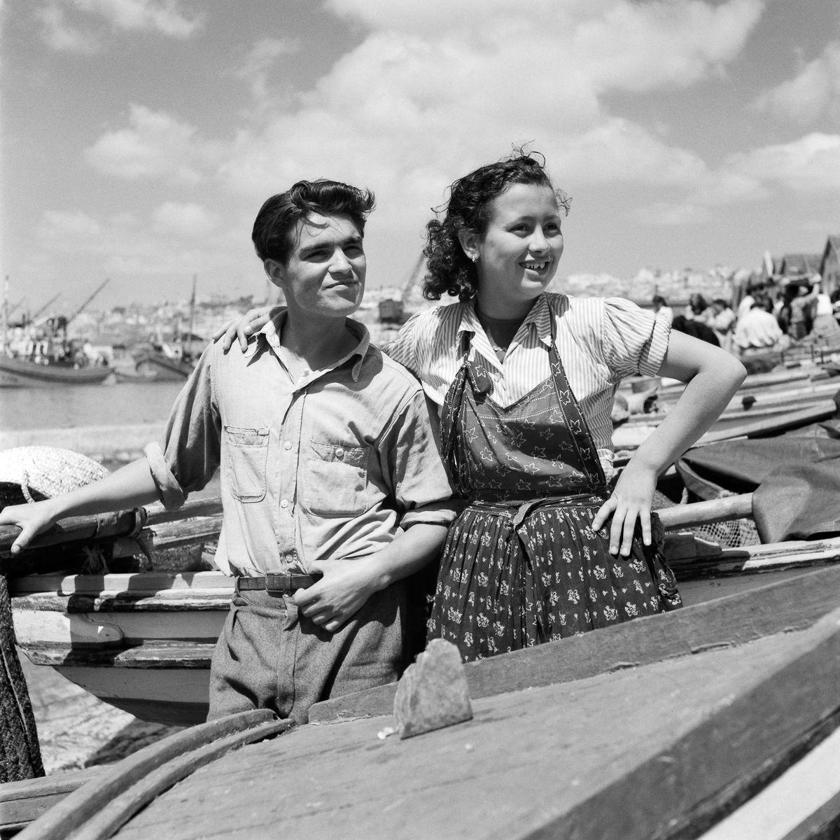 Fotografias deslumbrantes capturam a cultura da pesca dos anos 50 em Portugal 05