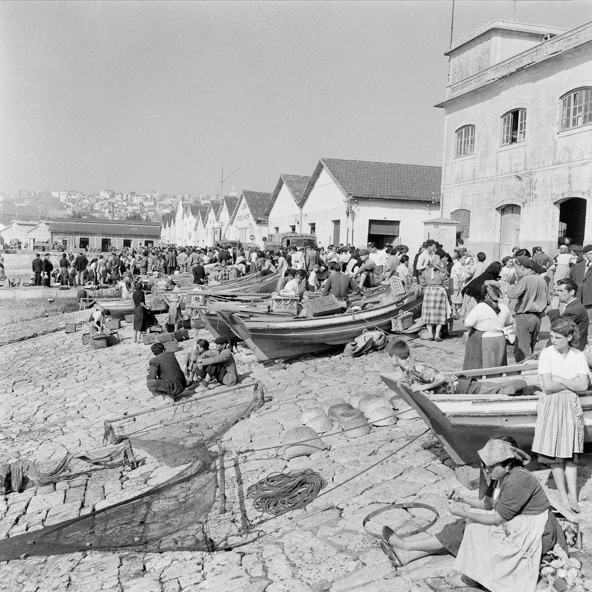 Fotografias deslumbrantes capturam a cultura da pesca dos anos 50 em Portugal 08