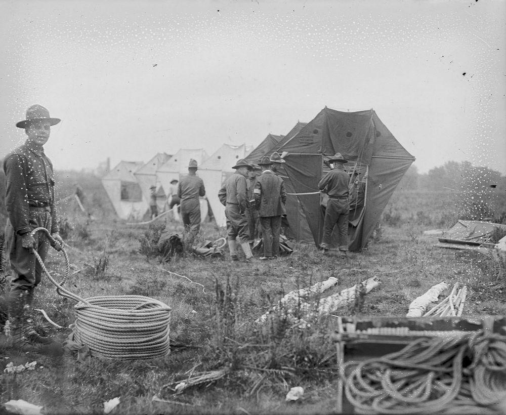 Na Primeira Guerra Mundial desenvolveram pipas de içamento para que homens pudessem fazer reconhecimento aéreo 02