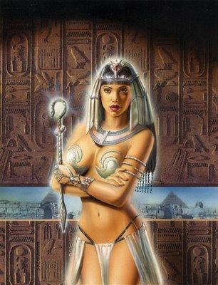 O harém de Ramsés II