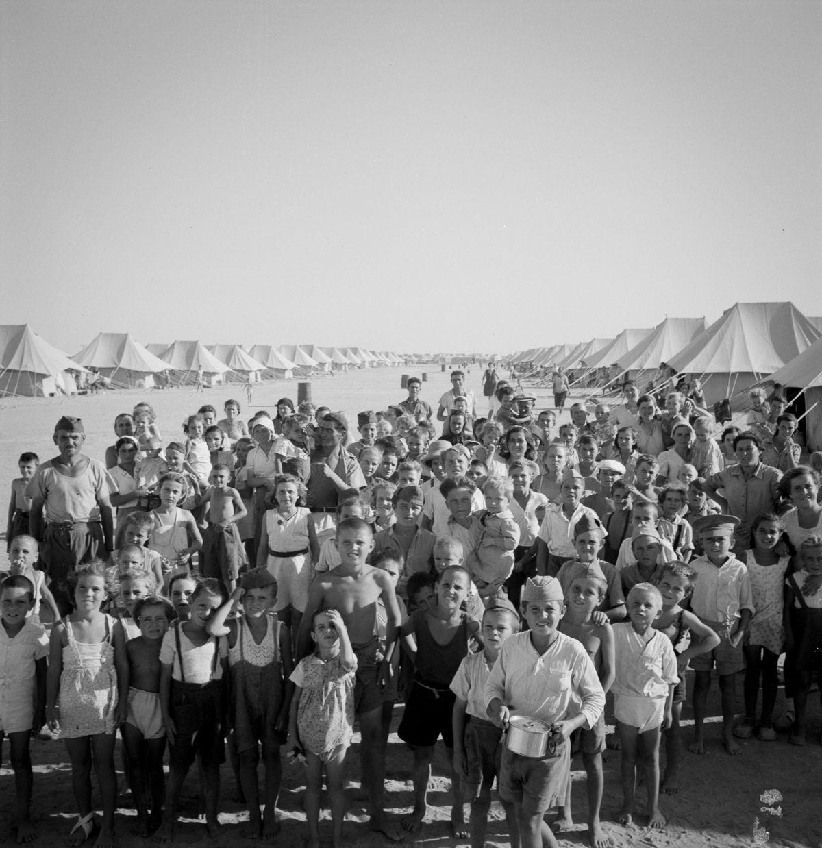 Quando os refugiados fugiram da Europa devastada pela guerra buscando paraísos no Oriente Médio 03
