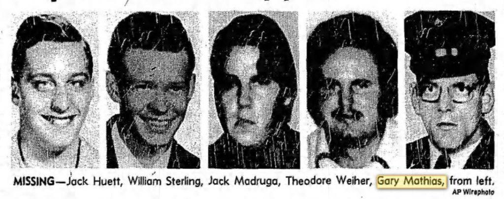 Há 40 anos, 5 amigos foram a um jogo de basquete nesse carro, quatro jamais regressaram vivos, e um nunca mais apareceu