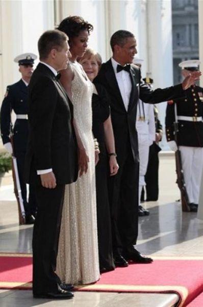Angela Merkel tem uma coisa para Michelle Obama 01
