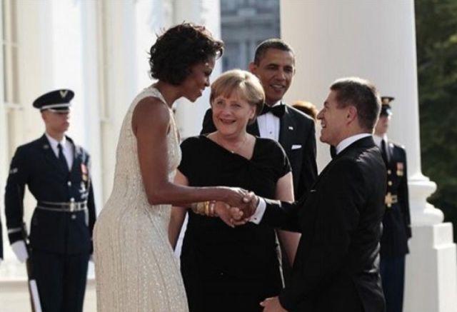 Angela Merkel tem uma coisa para Michelle Obama 03